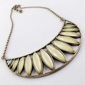 Lucky Brand Boho Necklace Boho Antique Gold Tone